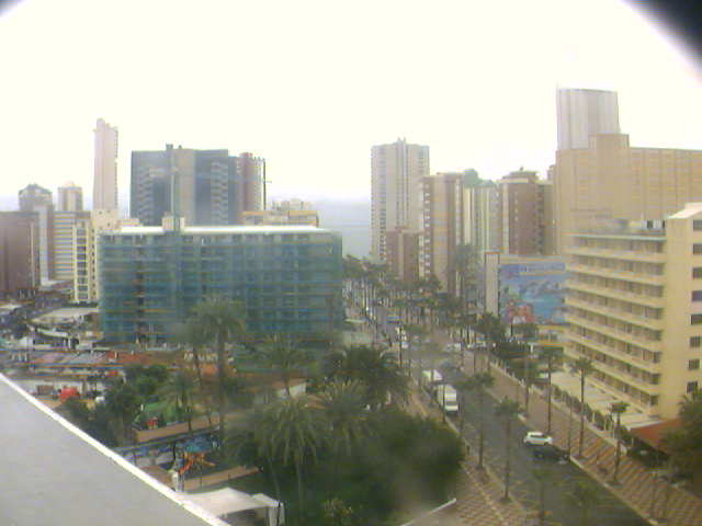 Benidorm Live Cam, Spain – The view from the Hotel Helios Benidorm