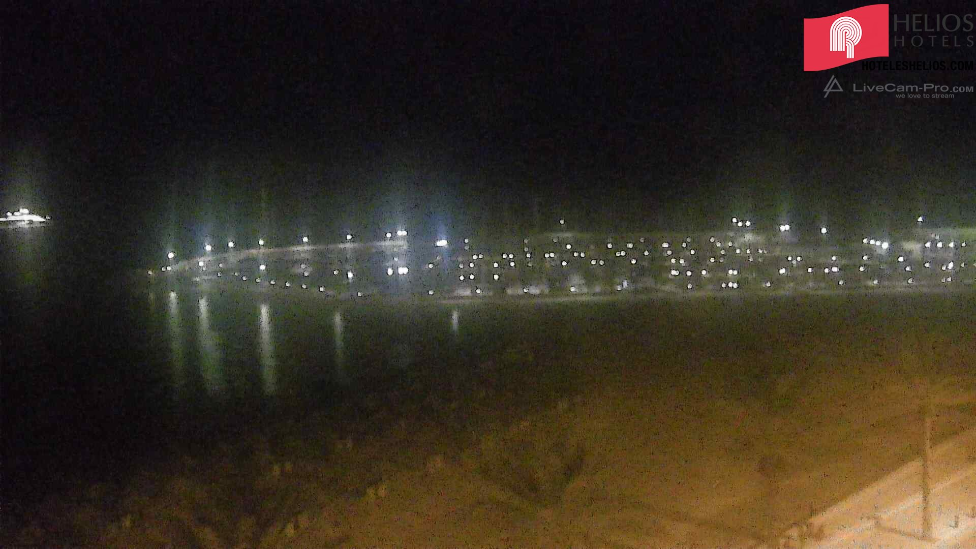 Webcam 2 der Playa de Palma. Live Webcam